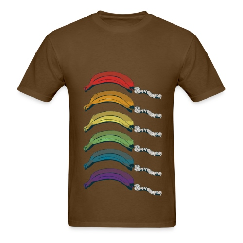 Rainbow Banana Phone - Men's T-Shirt