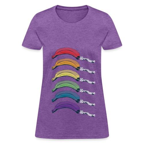 Rainbow Banana Phone - Women's T-Shirt