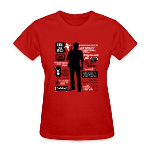 Dean quotes (DESIGN BY AVIA) - Women's T-Shirt