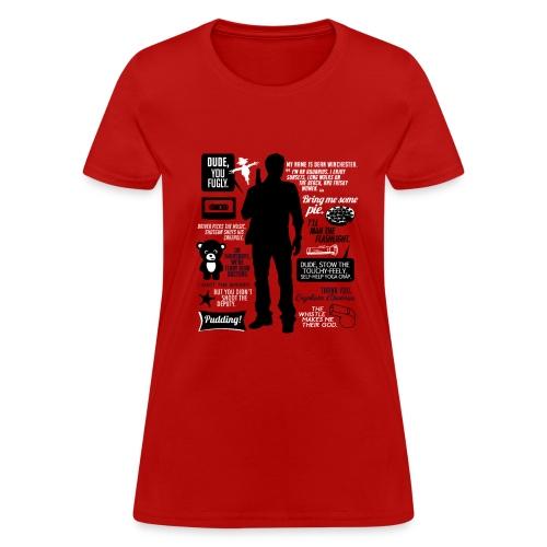 Dean quotes (DESIGN BY AVIA) - Women's T-Shirt