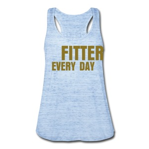 Fitter Every Day tank - Women's Flowy Tank Top by Bella