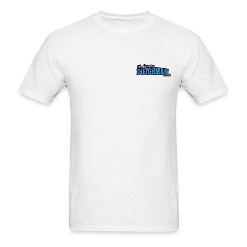 Grumpy Logo - Back (with dark lines for lighter shirts) - Men's T-Shirt
