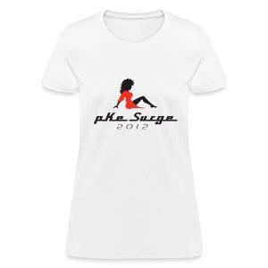 Women's PKE Surge 2012 - White - Women's T-Shirt
