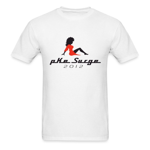 PKE Surge 2012 - White - Men's T-Shirt