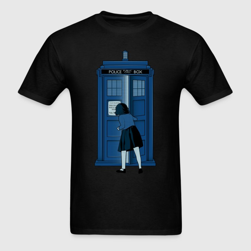 Magical Box [Dr.Who/Narnia] T-Shirts - Men's T-Shirt