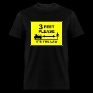 T-Shirts ~ Men's T-Shirt ~ 3 Feet Please