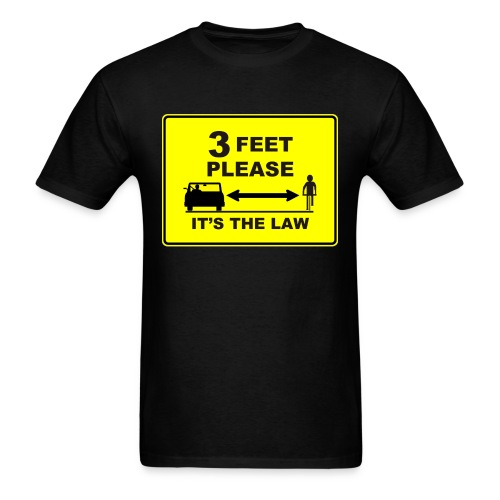 3 Feet Please - Men's T-Shirt