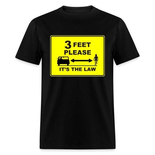 3 Feet Please - Men's T-Shirt