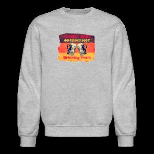 Planet Beer Retro Oktoberfest Drinking Team Men's Crewneck Sweatshirt - Crewneck Sweatshirt