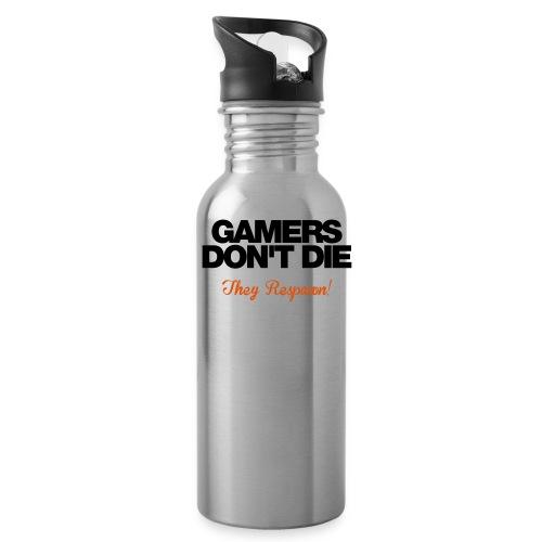 Gamers Don't Die - Water Bottle
