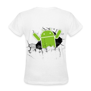 Women's Android Tee - Women's T-Shirt