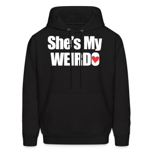 SHE'S My Weirdo - Men's Hoodie