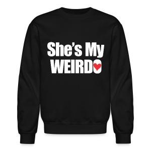 SHE'S My Weirdo - Crewneck Sweatshirt