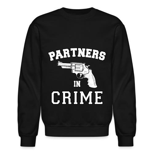Partners In Crime Crewneck Sweatshirt - Crewneck Sweatshirt