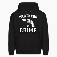 Partners In Crime Right Hoodies