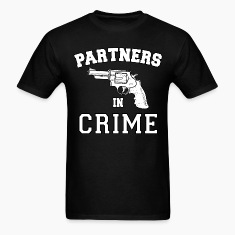 Partners In Crime Right T-Shirts