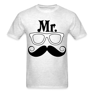 Mr. Nerd T-Shirt - Men's T-Shirt