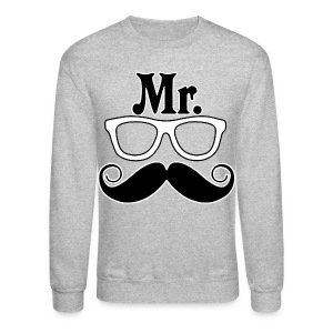 Mr. Nerd Crewneck Sweatshirt - Crewneck Sweatshirt