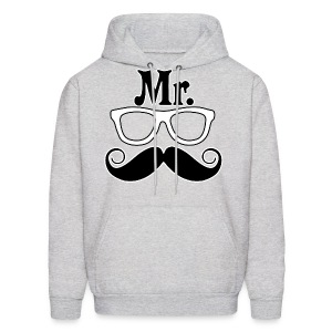 Mr.Nerd Hooded Sweatshirt - Men's Hoodie