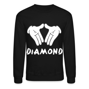 Micky Mouse Diamond Crewneck Sweatshirt - Crewneck Sweatshirt