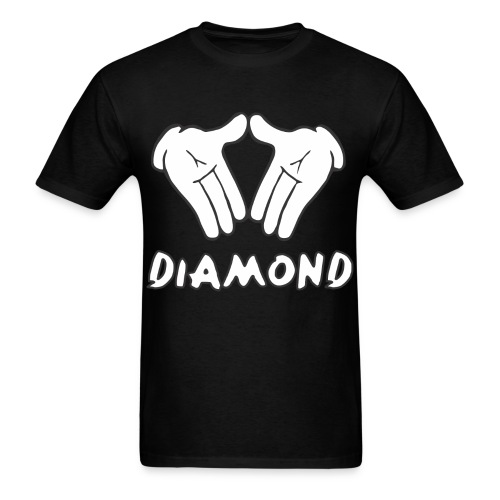 Micky Mouse Diamond T-Shirt - Men's T-Shirt