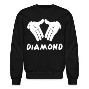 Micky Mouse Diamond Crewneck Sweatshirt - Crewneck Sweatshirt
