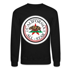 California All Stars Crewneck Sweatshirt - Crewneck Sweatshirt
