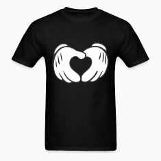 Mickey Mouse Heart T-Shirt