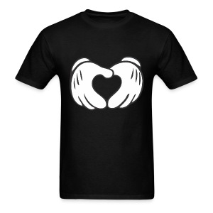 Mickey Mouse Heart T-Shirt - Men's T-Shirt