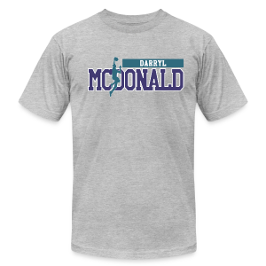 Darryl McDonald classic  - Men's Fine Jersey T-Shirt