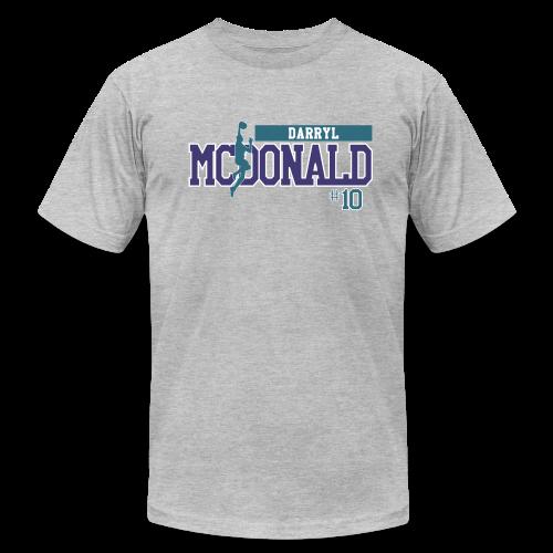 Darryl McDonald hashtag  - Men's Fine Jersey T-Shirt