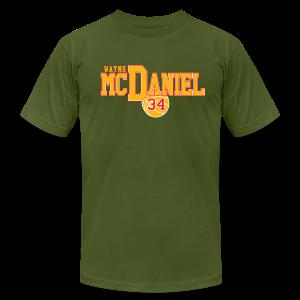 Wayne McDaniel Ball - Men's Fine Jersey T-Shirt
