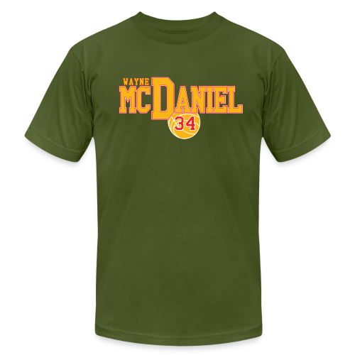 Wayne McDaniel Ball - Men's Fine Jersey T-Shirt