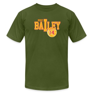 Eric Bailey ball - Men's T-Shirt by American Apparel