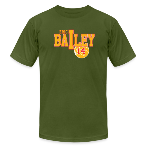 Eric Bailey ball - Men's Fine Jersey T-Shirt