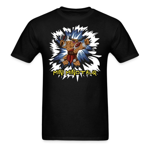 Mini Minotaur (Dark Shirt Design) - Men's T-Shirt