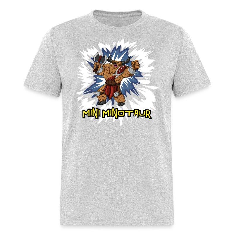 Mini Minotaur (Dark Shirt Design) T-Shirt | TOBUSCUS