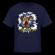 Kids' Shirts ~ Kids' T-Shirt ~ Mini Minotaur (Dark Shirt Design)