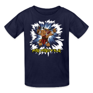 Kids' Shirts ~ Kids' T-Shirt ~ Mini Minotaur (Dark Shirt Design)