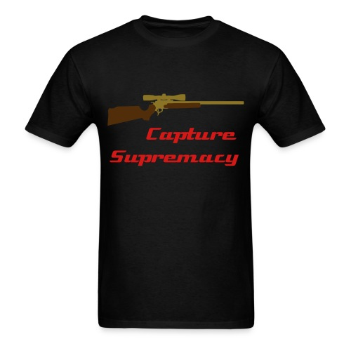 CaptureSupremacy - Black - Men's T-Shirt