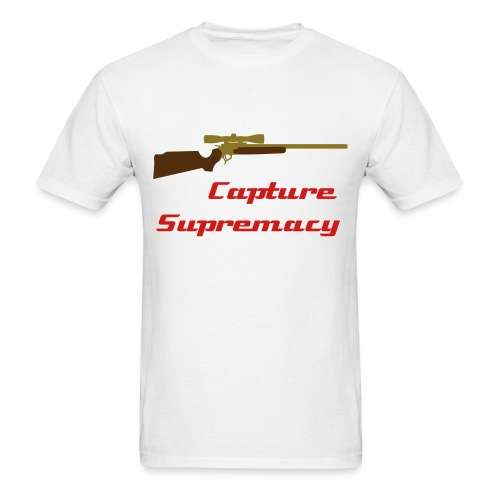 CaptureSupremacy - White - Men's T-Shirt