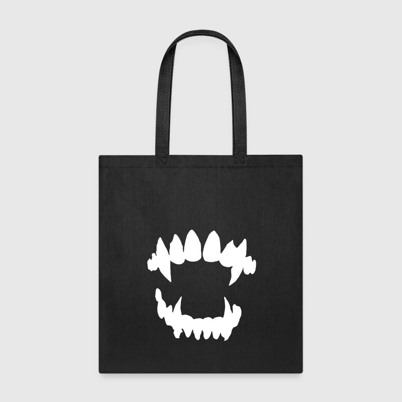 Halloween Vampire - Vampire teeth Bags & backpacks - Tote Bag