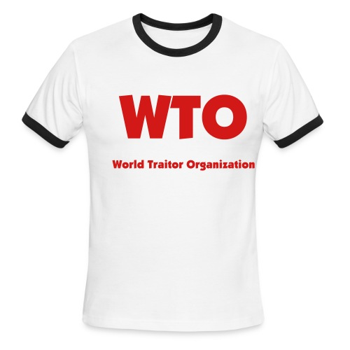 WTO - Men's Ringer T-Shirt