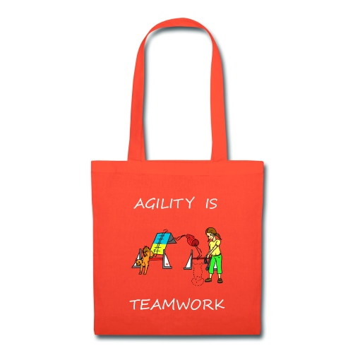 Agility Is - Teamwork! - Tote Bag