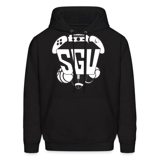 SGU New Logo Hoodie B&W
