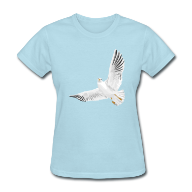 Bird - Dove - Peace Women's T-Shirts