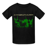 Kids' Shirts ~ Kids' T-Shirt ~ Kid's Jefferson State T-Shirt (distressed)