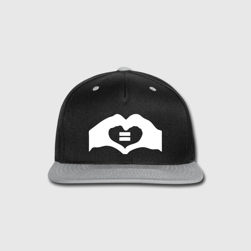 marriage equality Caps - Snap-back Baseball Cap