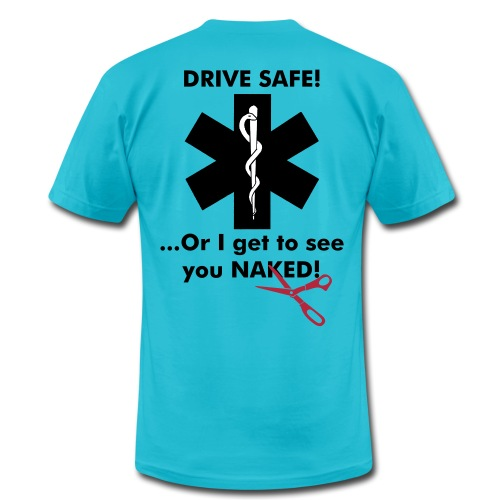 I Get to See you Naked Shirt - EMS - Men's Fine Jersey T-Shirt