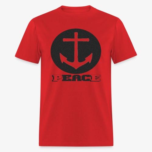 Peace Anchor - Men's T-Shirt
